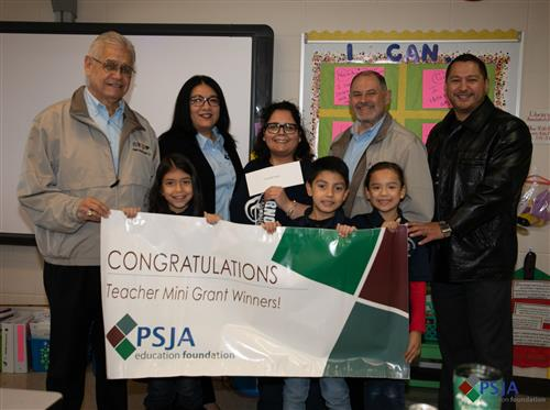 PSJA Education Foundation awards over $46,000 in grants to educators