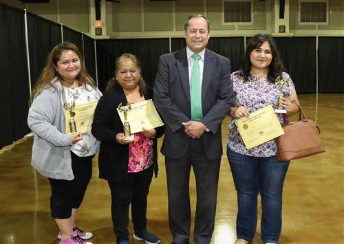 PSJA ISD Recognizes over 100 Parent Volunteers for National Public School Volunteer Week