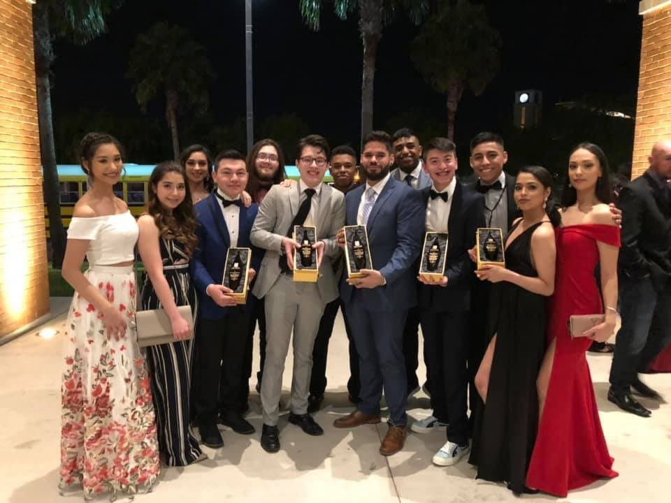PSJA theatre troupes win a dozen Palm Awards