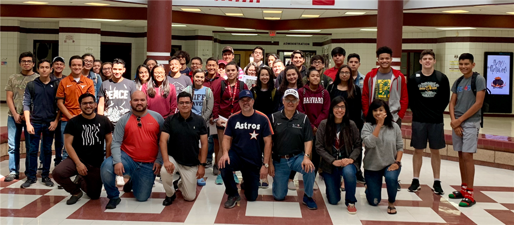 PSJA ISD students prepare for rigorous college admissions exam through free ACT Attack Prep Course