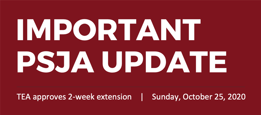 Important Message from Superintendent Dr. Arredondo | Oct. 25, 2020
