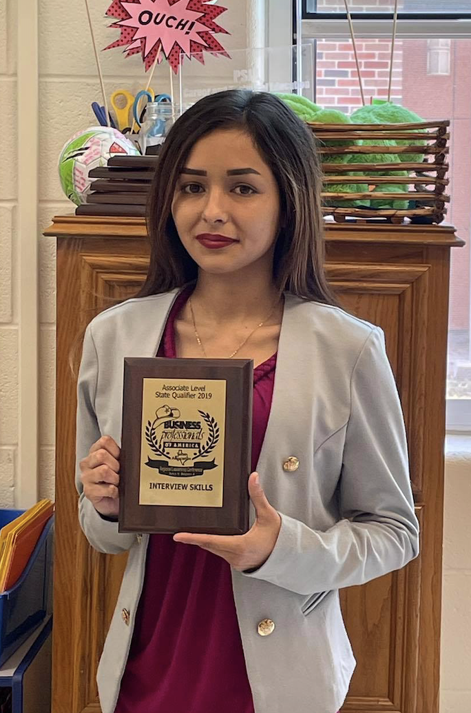 PSJA ISD student wins Business Professionals of America State competition,  among six to qualify for Nationals