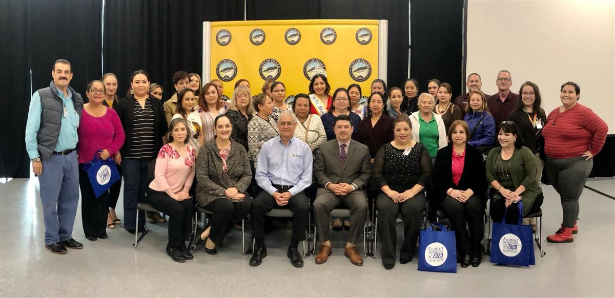 Over 35 PSJA ISD parents recognized as US Census Ambassadors