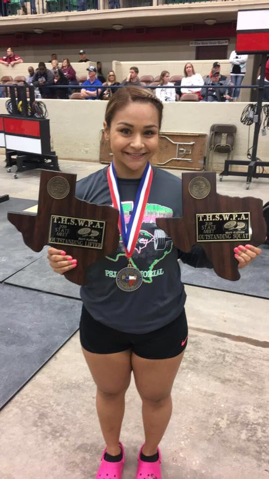 PSJA Athlete named Powerlifting State Champion, district well represented at meet