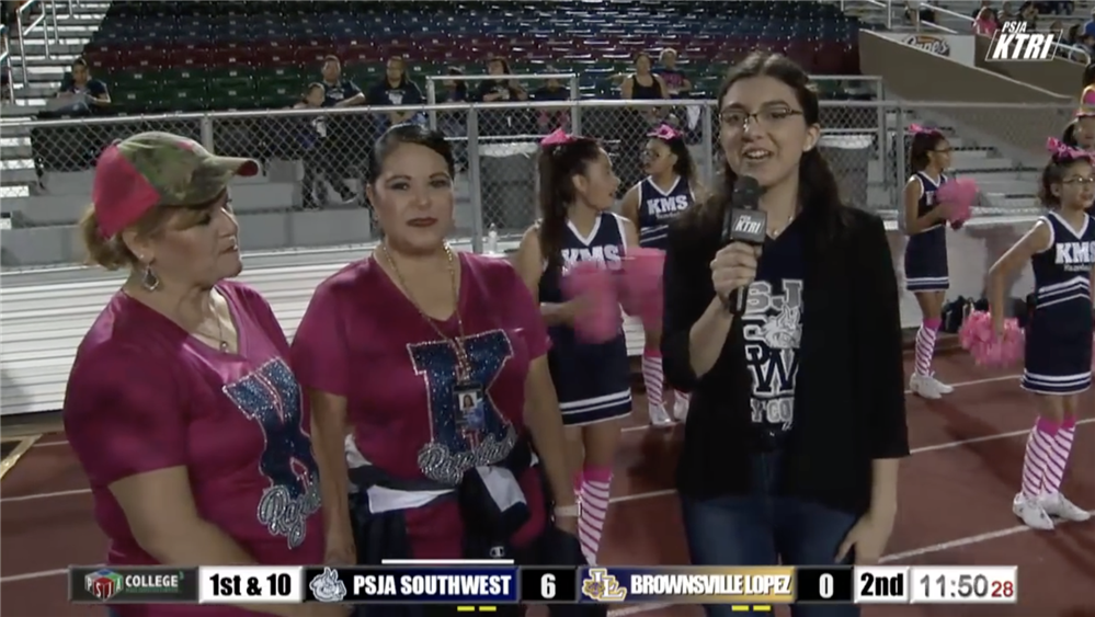 PSJA ISD Recognizes First K-TRI Student Reporters Media Team