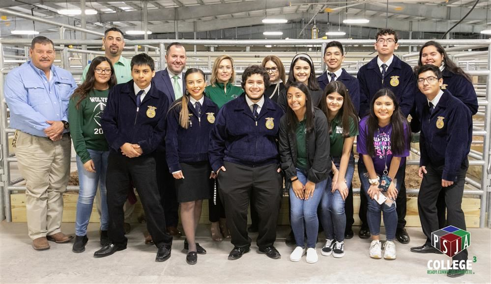 PSJA ISD, City of Pharr host ribbon-cutting ceremony for new PSJA Agricultural Science Facility