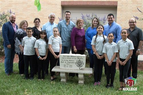 Carmen Anaya Elementary dedicates garden to the memory of community leader