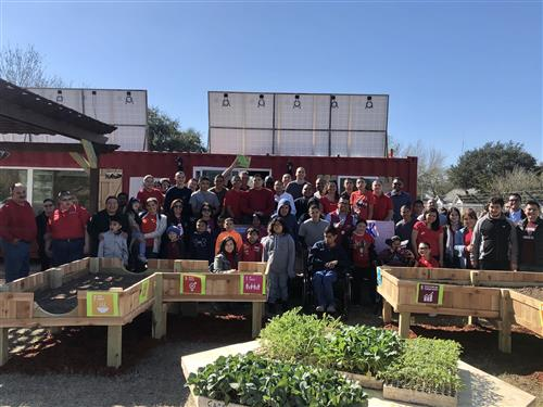 Lowe's donates $24,500 for sustainable community garden, outdoor classroom at PSJA ISD