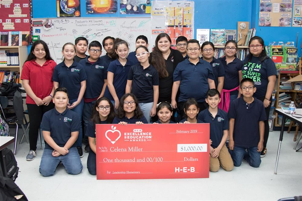 PSJA Elementary Teacher, Finalist for H-E-B Excellence in Education Award