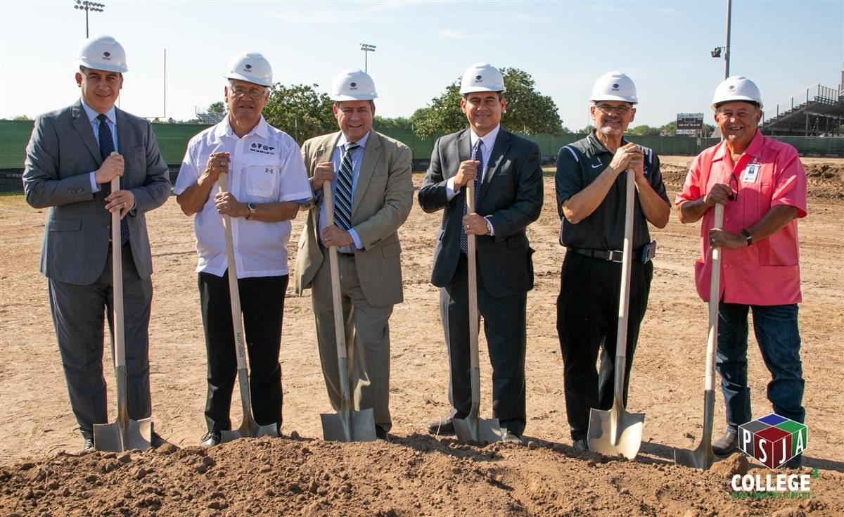 PSJA ISD hosts two groundbreaking ceremonies for new swimming facilities