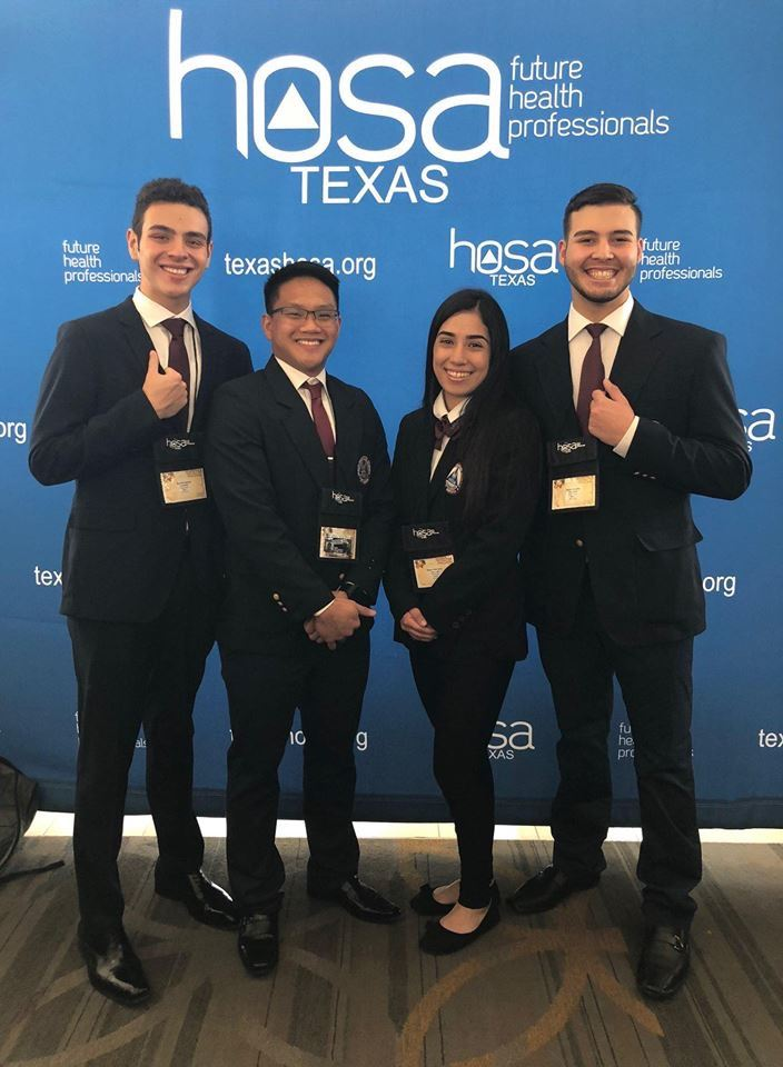 PSJA Early College HS Healths Occupations of America team advances to Nationals