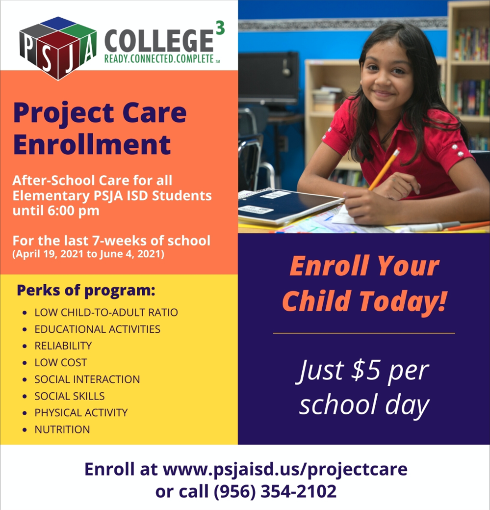 Project Care Enrollment is Now Open!