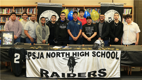 PSJA North Football Athlete to play for Texas Wesleyan University