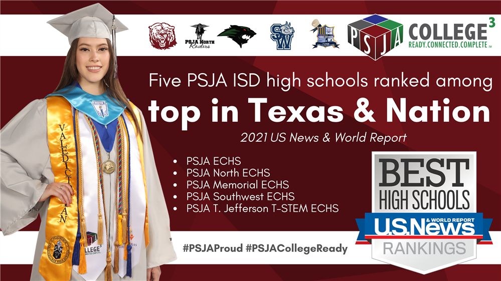 PSJA ISD high schools ranked best