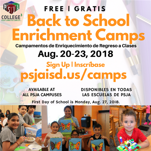 Back to School Enrichment Camps