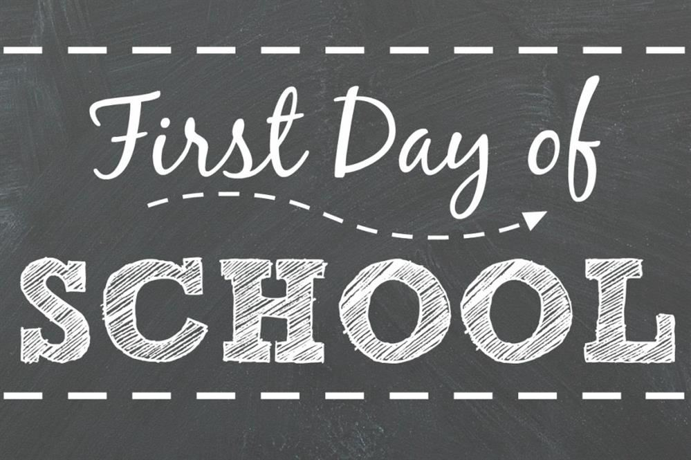 First Day of Class Monday August 26, 2019