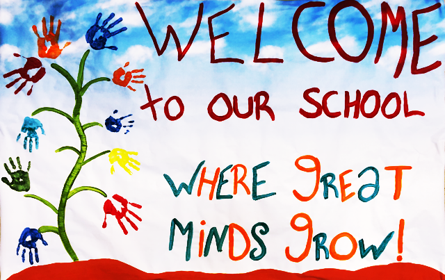 Welcome Students Banner