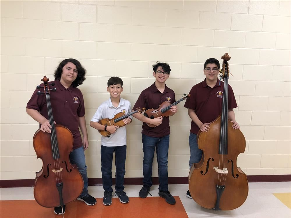 All Region Orchestra Students