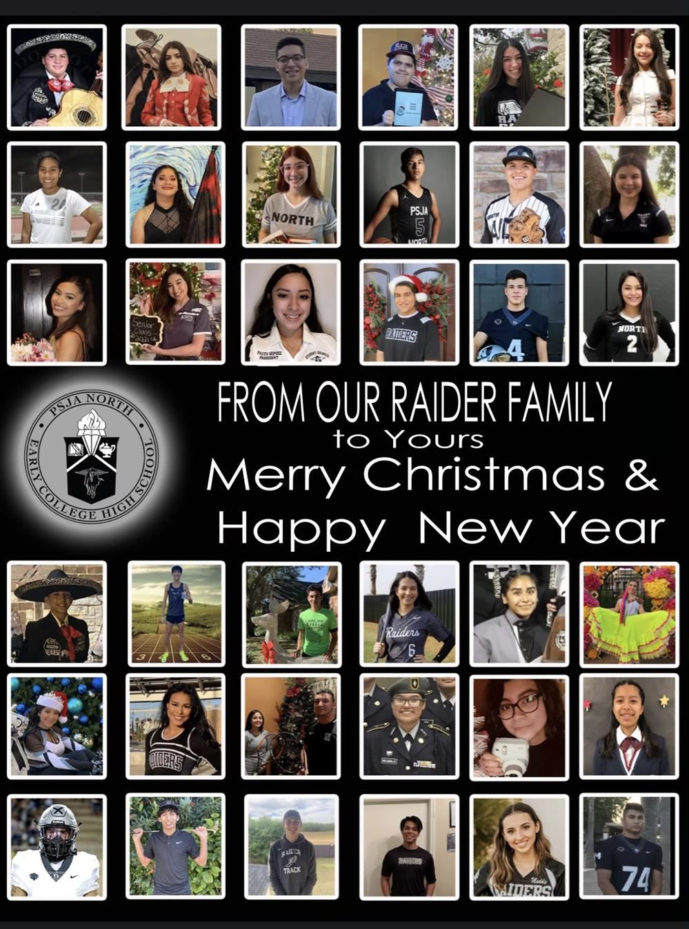 Raider Holiday Card 2020