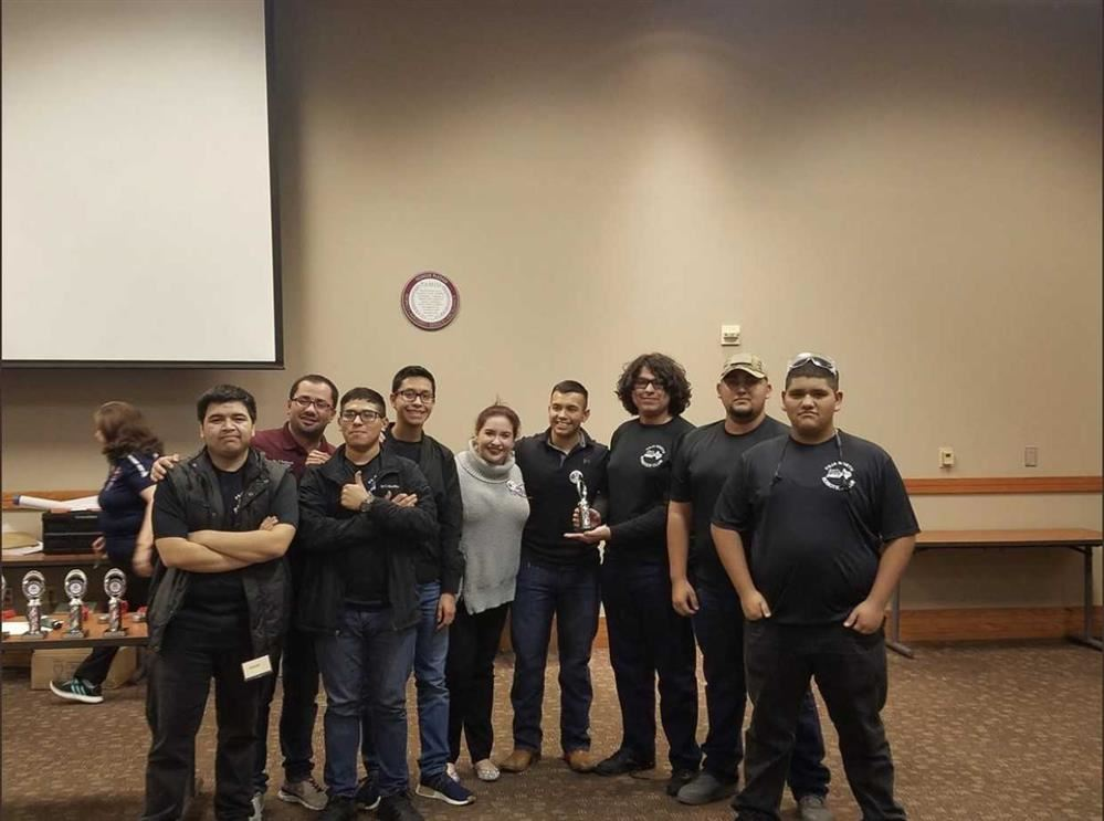 "CONGRATULATIONS to our PSJA North Robotics Team ""Raiderbotz"" for winning the Laredo Wild Card Qualifier Control Award! They were the ONLY team whose robot could actually speak! #FTC13285"