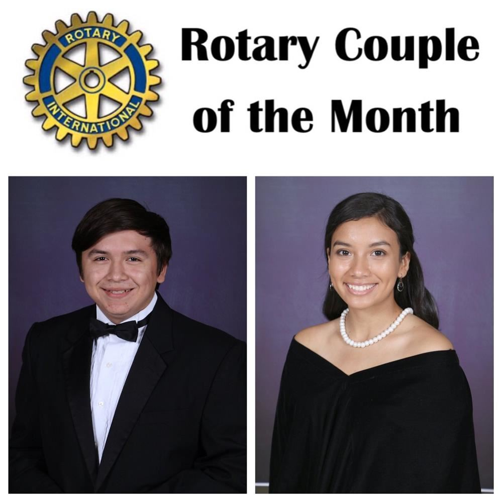 April Rotary Couple of the Month