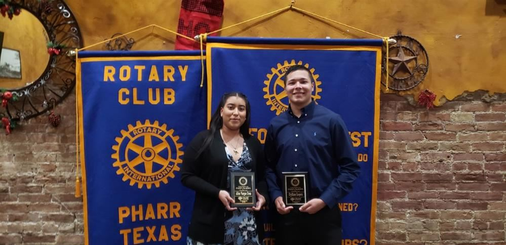 December Rotary Couple of the Month