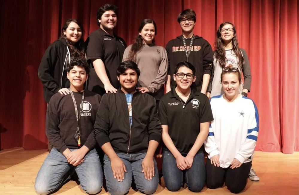 CONGRATULATIONS to our PSJA North Drama students who participated in Student Films. They have advanced to the UIL Film Semi Finals! Great job Students! #RaiderPride