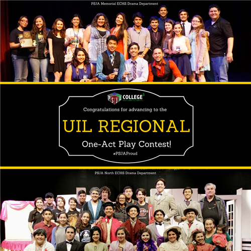 Two PSJA ISD Drama Teams Advance to UIL Regional One-Act